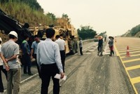Cao tốc Nội Bài – Lào Cai cơ bản không còn hằn vệt bánh xe