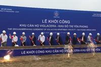 Viglacera khởi công nhà ở công nhân tại KCN Yên Phong