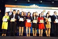 Bảo hiểm Bảo Việt lọt vào Top 100 nơi làm việc tốt nhất