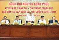 Thủ tướng Nguyễn Xuân Phúc làm việc với PVN