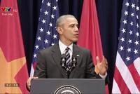 """Tổng thống Obama trích dẫn """"Sông núi nước Nam vua Nam ở"""""""