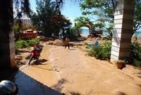 Khẩn trương khắc phục sự cố vỡ hồ chứa nước đãi titan tại Bình Thuận