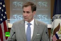 Bị bắt quả tang chơi Pokemon trong họp báo Bộ Ngoại giao Mỹ