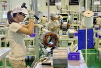 Giải ngân xấp xỉ 10 tỷ USD vốn FDI trong 8 tháng