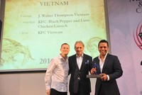 J. Walter Thompson Vietnam nhận 4 giải thưởng lớn