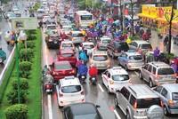 Dày đặc dự án khiến hạ tầng khu Tây Hà Nội quá tải