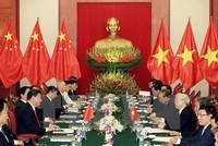 Định hướng phát triển lành mạnh, lâu dài quan hệ Việt Nam - Trung Quốc