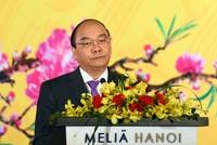 Thủ tướng chủ trì chiêu đãi Đoàn Ngoại giao dịp năm mới Đinh Dậu