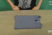 3 bước để gấp 1 chiếc áo một cách hoàn hảo