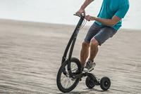Độc đáo chiếc xe đạp không yên