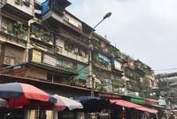 Xập xệ những khu chung cư xuống cấp giữa lòng Hà Nội
