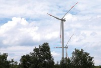 Dự án điện gió, đăng ký 50, triển khai 4
