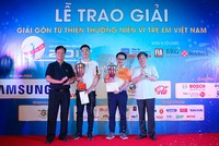 Trao giải Swing for the Kids 2017
