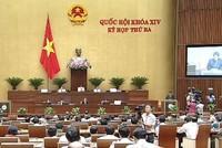 Kỳ họp thứ 3, Quốc hội khóa 14