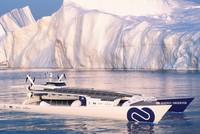 Con tàu chạy bằng năng lượng hydro đầu tiên trên thế giới, vòng quanh thế giới liên tục trong 6 năm