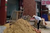 """Cát xây dựng vẫn """"đắt như vàng"""""""