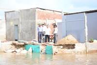 Cà Mau: 20 tỷ đồng xây dựng bờ kè chống sạt lở tại thị trấn Năm Căn