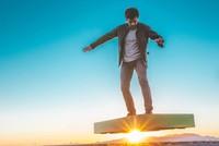 Arcaboard, ván trượt có thể bay trên không trung