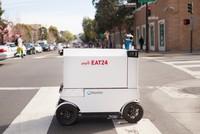 Robot tự động đưa đồ ăn cho khách hàng tại San Francisco