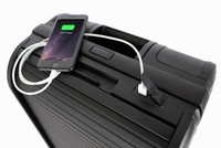 Trunker, vali đinh vị GPS, tự động cân trọng lượng