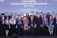 Tháng 11, HNX sẽ vinh danh các doanh nghiệp quản trị tốt 2017