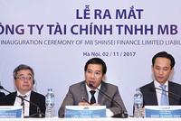 Ra mắt Công ty Tài chính TNHH MB Shinsei