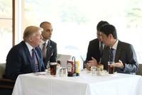 Những khoảnh khắc thư thái trong chuyến công du châu Á của ông Trump