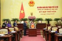 Hà Nội bầu bổ sung 4 Ủy viên UBND thành phố nhiệm kỳ 2016-2021