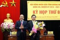 Thay đổi nhân sự chủ chốt tỉnh Quảng Ngãi