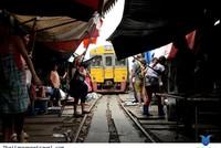 Khu chợ nguy hiểm nhất Thái Lan