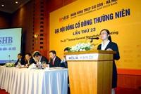 Ông Đỗ Quang Hiển: SHB sẽ cố gắng đảm bảo cổ tức ít nhất là 7,5%
