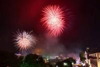 Hà Nội rực rỡ pháo hoa mừng đại lễ thống nhất