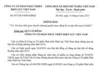 VNPD thông báo gia hạn thời gian chuyển nhượng quyền mua, đăng ký và nộp tiền mua cổ phần