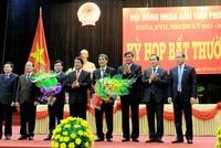 Thủ tướng Chính phủ phê chuẩn nhân sự Cà Mau, Phú Thọ, Bình Dương