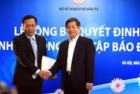 Bộ trưởng Bùi Quang Vinh trao quyết định bổ nhiệm Tổng biên tập Báo Đầu tư