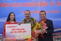"""Vietjet tặng quà """"1 năm bay miễn phí"""" cho hành khách may mắn"""