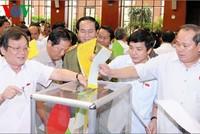 Bầu Chủ tịch nước, Thủ tướng, Chủ tịch Quốc hội vào tháng 4