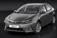 Sedan Toyota Altis 2017 chính thức lộ diện