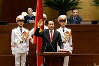 Đạt đa số phiếu tán thành, Đại tướng Trần Đại Quang tuyên thệ nhậm chức Chủ tịch nước