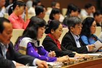 Quốc hội tiến hành phê chuẩn bổ nhiệm thành viên Chính phủ