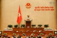 Quốc hội kiện toàn nhân sự 2 Hội đồng