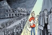 Nghề xếp hàng thuê ở Italy