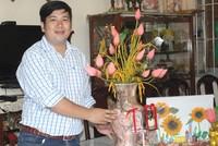 8x Đồng Tháp khởi nghiệp với mơ ước đưa hoa sen Việt đi khắp năm châu
