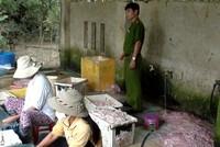 """Đà Nẵng: Đình chỉ hoạt động cơ sở chế biến thực phẩm """"bẩn"""""""