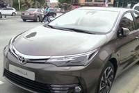 Toyota Altis 2017 lần đầu xuất hiện trên phố
