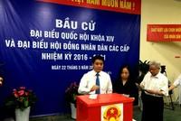 Chủ tịch Hà Nội trúng cử đại biểu HĐND với số phiếu cao nhất