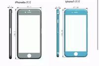 iPhone 7 nhỏ hơn và dày hơn iPhone 6s