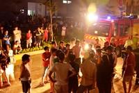 Chung cư HQC Plaza cháy lúc nửa đêm, 300 hộ dân tháo chạy