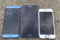 Galaxy Note 5 chịu lực tốt hơn Galaxy Note 7, iPhone 6s