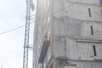 Hai công nhân lắp kính công trình Chung cư Tân Bình Apartment rơi từ tầng 8